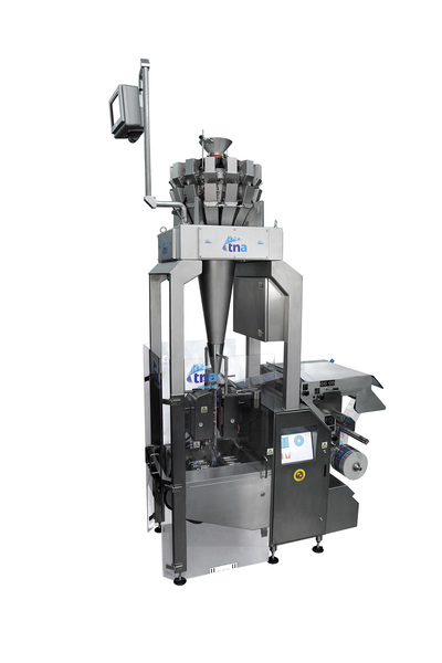 tna robag FXIS 3ci vertical form fill and seal (VFFS) rotary polyethylene (PE) packaging system