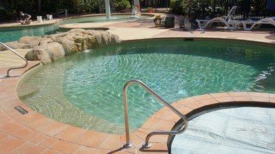 The Turtle Beach Resort children's pool.