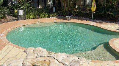 The children's pool.