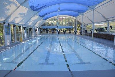 One of the three Terrey Hills Swim School pools. Image courtesy of Jack Garcia.