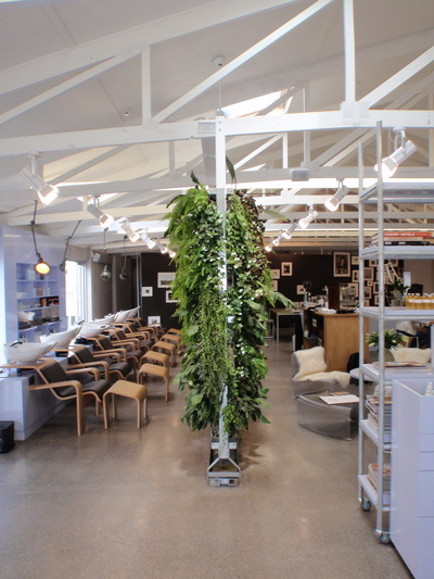 The double-sided greenwall also offers a green dividing solution for internal spaces.