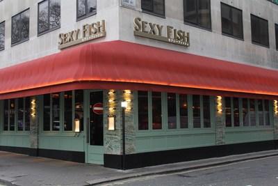 Sexy Fish restaurant.