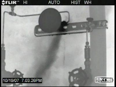 Figure 2: A leaking pressure gauge.