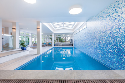 Auckland Inground Pools won silver in the Refurbishment category with this pool.