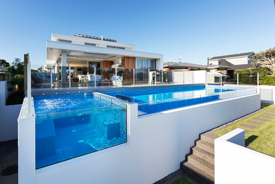 Acacia Pools won bronze in the Residential Pools more than $100K category with this pool.