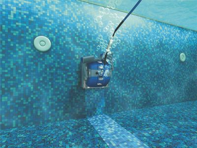 Robotic pool cleaners remove both fine and coarse particles before they reach the main pool filter. This greatly reduces the need for backwashing.