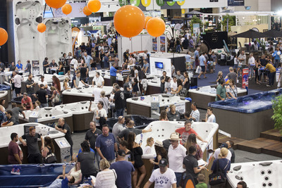 The 2017 Pool & Spa Expo attracted 22% more visitors than the 2016 event.