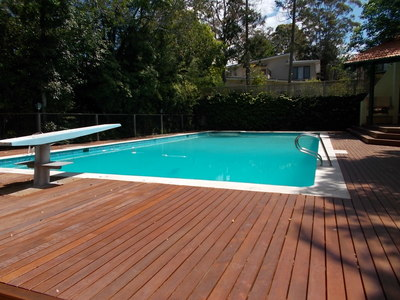 After: the pool is clean, the water is balanced and the running costs have been significantly reduced.