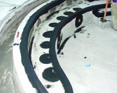 Waterproofing membrane.