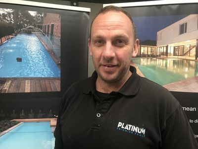 Scott Carson, Director, Platinum Swimming Pools.