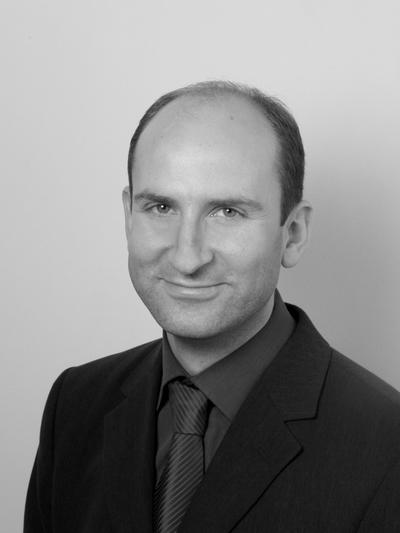 Head and shoulders portrait of Rainer Buchmann