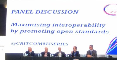 One of the many panel discussions at CCW