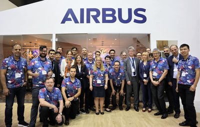The Airbus team at CCW