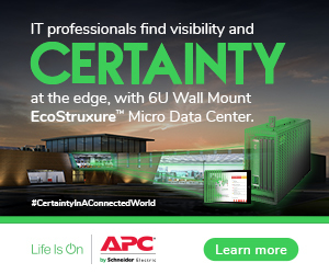 Schneider Electric promotional graphic for micro data centres