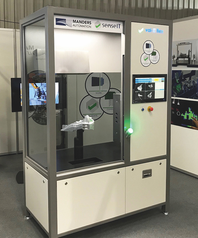 The val-IT Flex inspection cell.